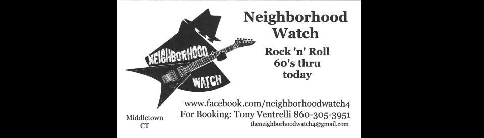 Neighborhood Watch Band Middletown CT